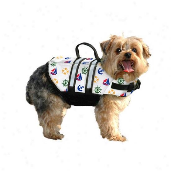Paws Aboard Nauticsl Dog Life Jacket