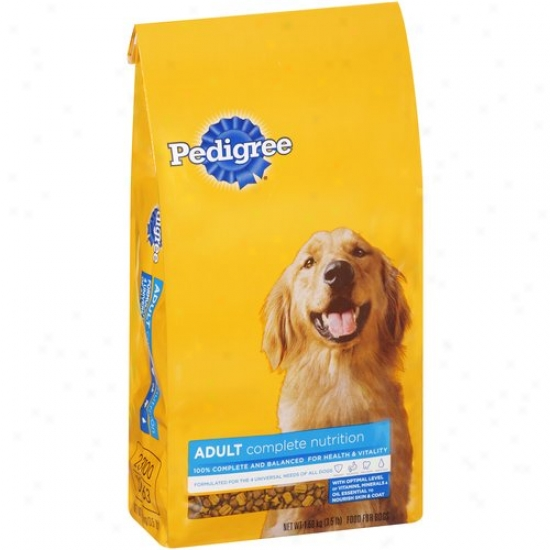 Pedigree Complete Nutrition Adult Dog Food, 3.5 Lb