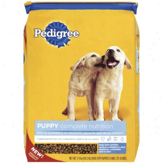 Pedigree Complete Nutrition Puppy-sized Crunchy Bites, 16.3 Lb