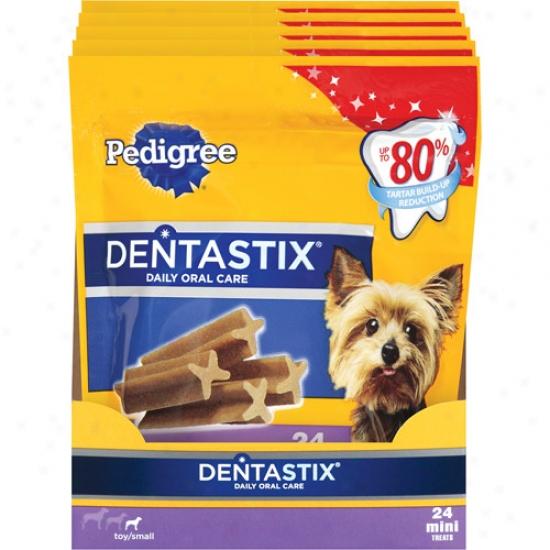 Pedigree Dentastix Mini Toy/small Dog Snacks & Treats, 6 Oz