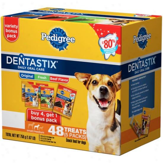 Pedigree Dentzstix Small/medium Dog Treats Vatiety Pack, 48ct