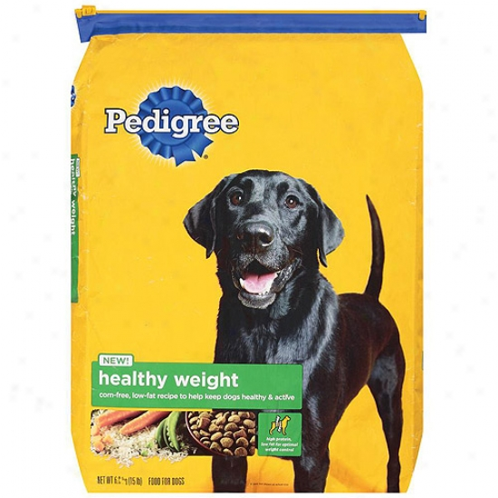 Pedigree Healthy Weight Dog Feed, 15 Lb