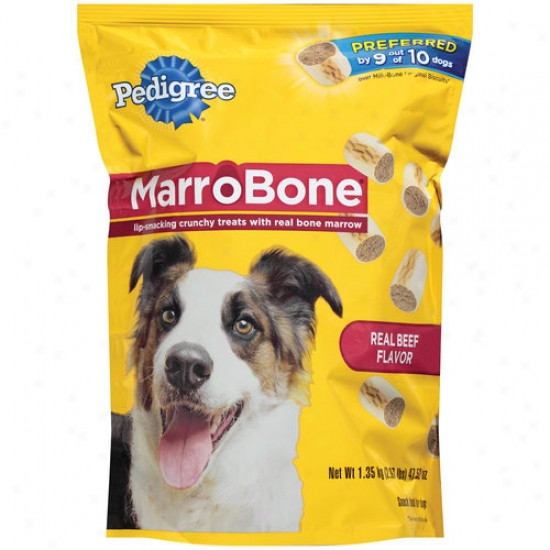 Pedigree Marrobone Real Beef Flavor Dog Treats, 47.52 Oz