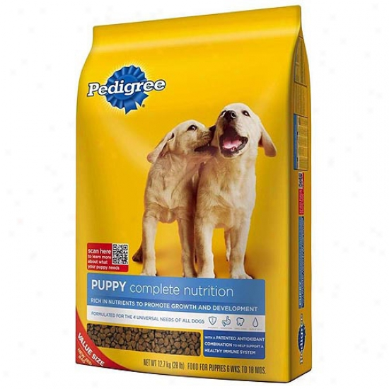 Lineage Puppy Complete Nutrition Dog Food, 28 Lb