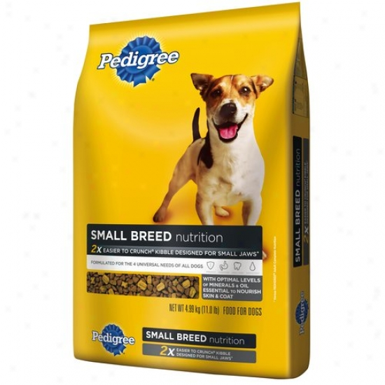 Pedigree Small Breed Dog Food, 11 Lb