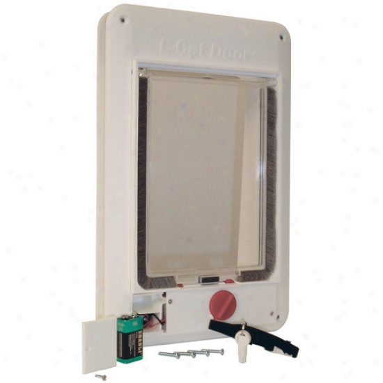 Pure Pet By Ideal Electromagnetic ''e'' Cat Door