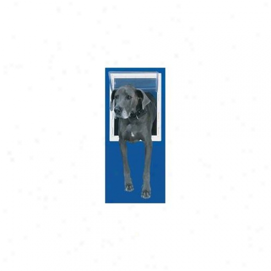 Perfect Pet From Intellectual Extra Large White Aluminum Pet Door