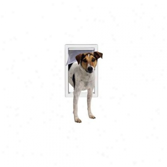 Finish Pet By Ideal Medium Pet Door With Telescoping Frame