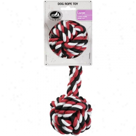 Pet Champion 2 Knot Large Dog Rope Toy