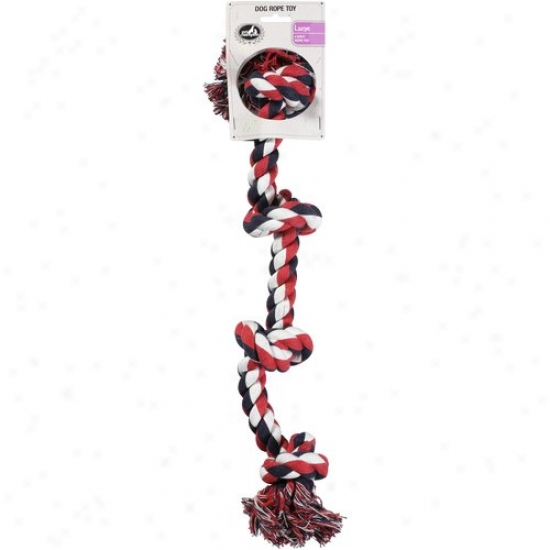 Pet Champion 4 Knot Large Dog Rope Toy