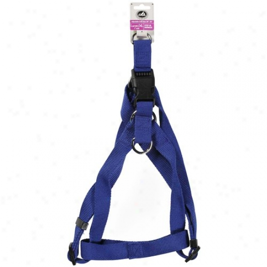 Pet Champion Blue Step-in Large/xl 1 In Wide Dog Harness