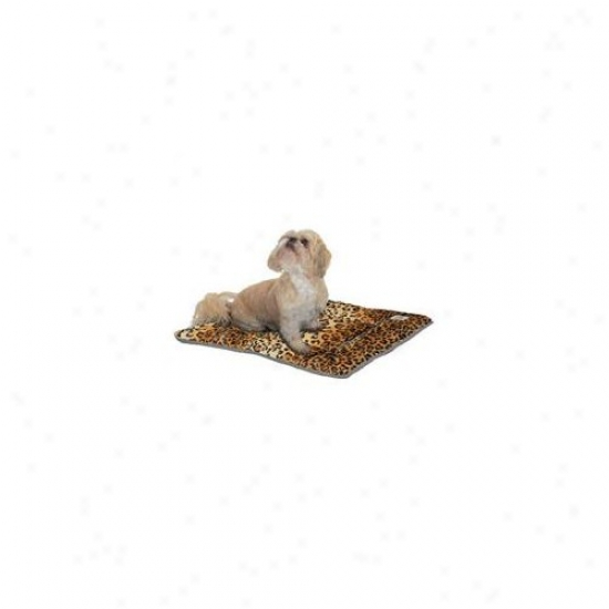 Pet Dreams Designer Sleep-ezz Pet Bed In Leopard Print