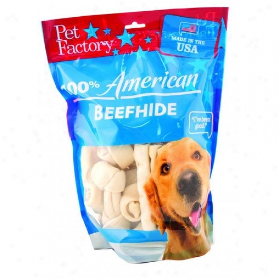 Pet Factory 78202 100 Percent American Beefhide Small Dog Assortment
