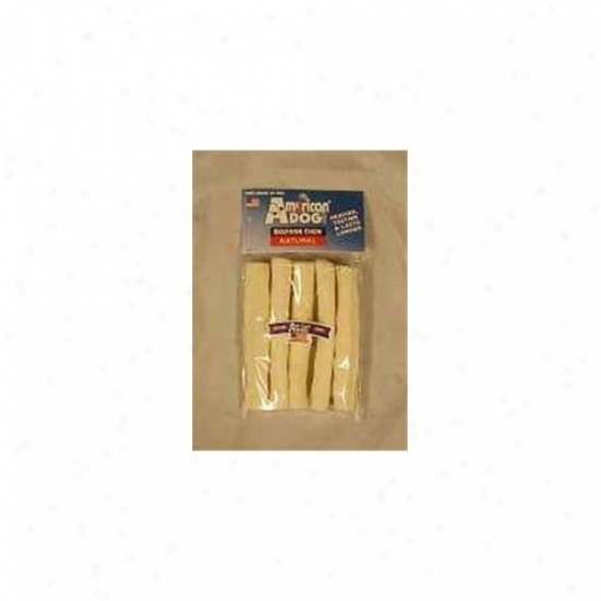 Pet Factory Usa Beefhide Chip Rolls 5 Pack - 74550