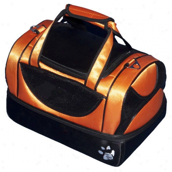 Pet Gear Aviator Bag Pet Carrier In Tangerine