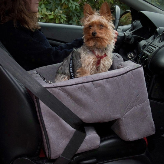 Pet Gear Booster Pet Car Seat In Charcoal