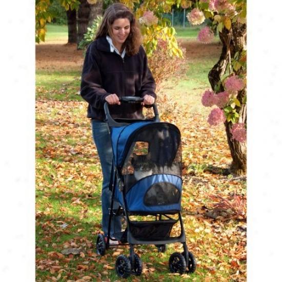 Pet Gear Cobalt Blue Ready Trails Pet Stroller