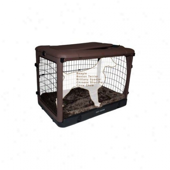 Pet Gear Deluxe Steel Dog Crate