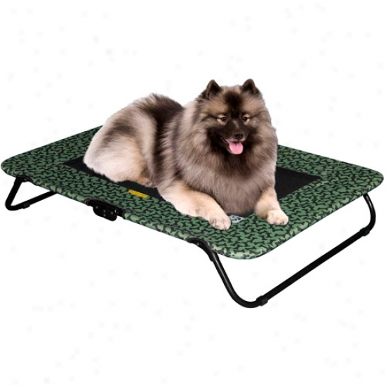 Pet Gear Designer Pet Cot In Tsn Bone