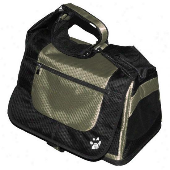 Pet Gear Messenger Bag Pet Carrier In Sage