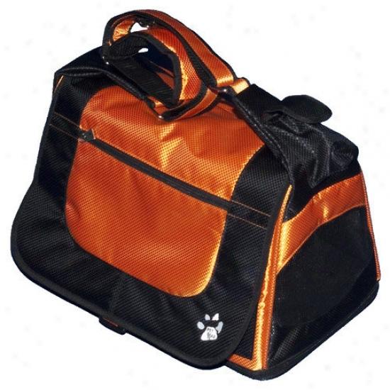 Pet Gear Messenger Bag Pet Carrier In Tangerine