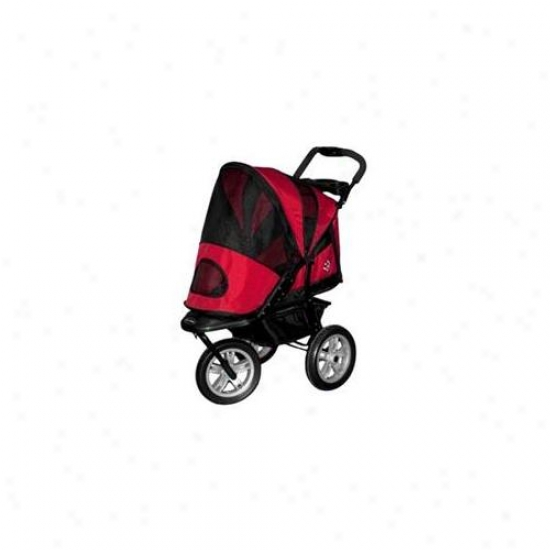 Pet Gear Pg8350rp A3t Generation 2 All-terrain Pet Stroller In Red Poppy
