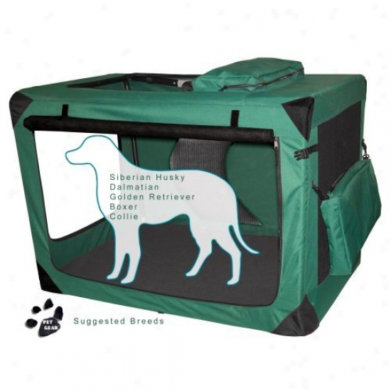 P3t Gear Portable Soft Crate-42 Inches-green