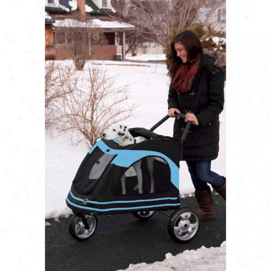 Pet Gear Roadstr Pet Stroller In Black / Dismal