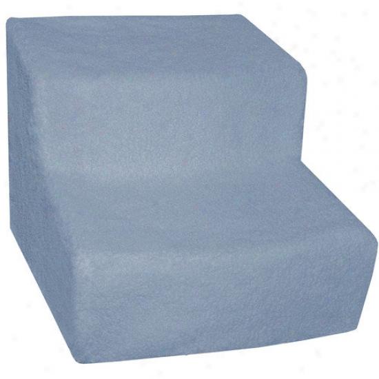 Pet Gear Soft Step Ii Pet Staircase In Slate Blue