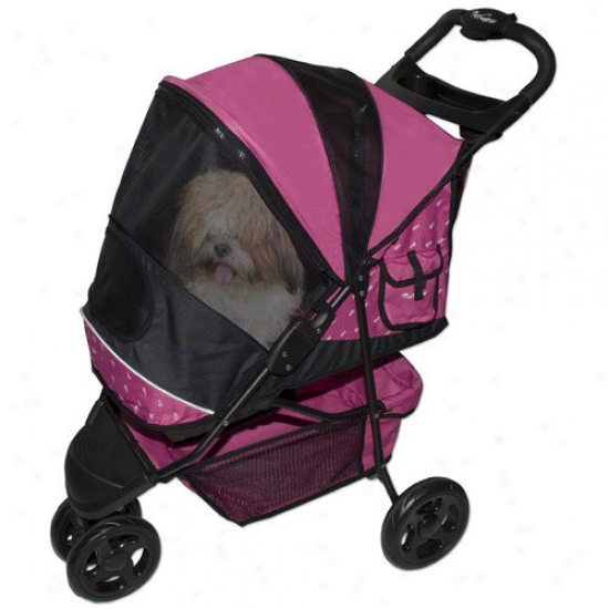 ePt Gear Speciap Edition Pet Stroller In Raspberru