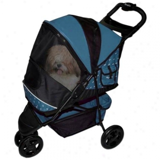 Pet Gear Special Edition Stroller-full Size-blueberry