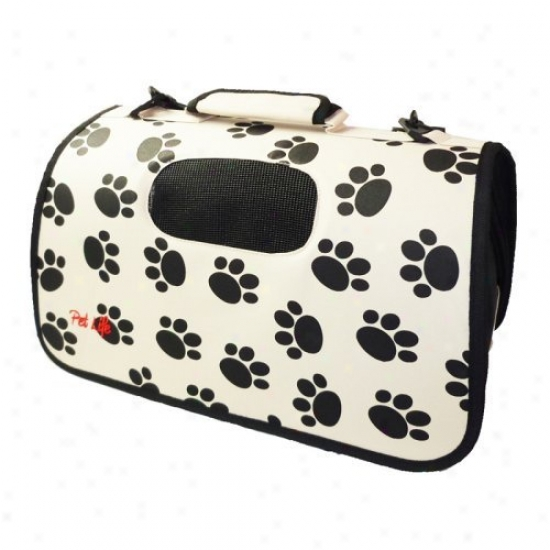 Pet Life Airline Approbed Zippered Folding Cage Carrier