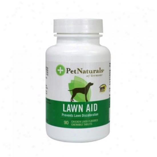 Pet Naturals Of Vermont Lawn Aid For Dogs 90 Chewable Tablets