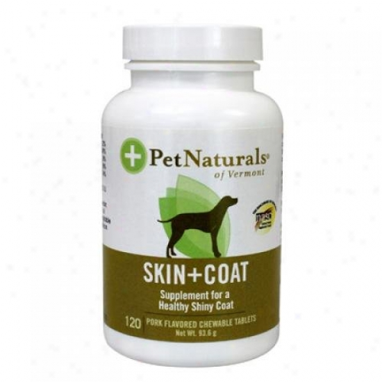 Pet Naturals Of Vermont Skin And Coat Suppport 120 Ct