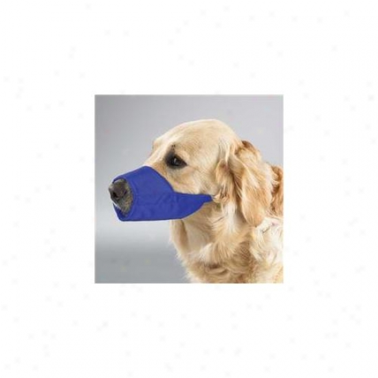 Pet Pals Tp614 18 19 Gg Lined Fashion Muzzle 10. 5 In Snout Sz 3xl Blue