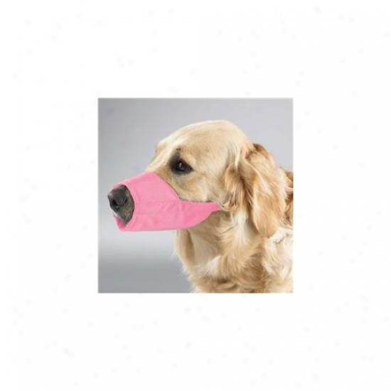 Pet Pals Tp614 18 75 Gg Lined Fashion Muzzle 10. 5 In Nose Sz 3xl Pink