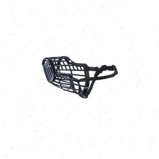 Pet Pals Za693 08 17 Guardian Gear Basket Muzzle Lrg 13 In Black