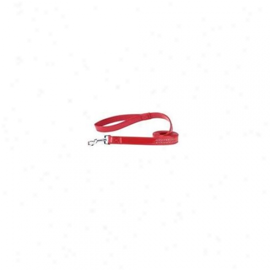 Pet Pals Za802 44 83 Esc Jewel Lead 4 Ft X . 62 In Red Patent