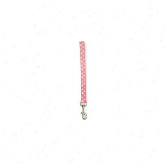 Pet Pals Zw889 45 75 Accidental Canine Crossbone Lead 4 Ft X . 75 In Pink