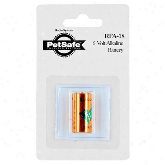 Pet Place of ~ty Rfa18-11 Pet Door 6 Volt Alkaline Battery For Pdt Training Collars