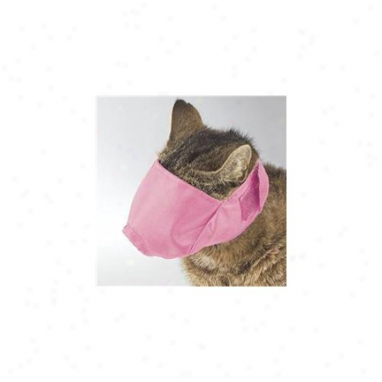 Petedge Tp570 10 75 Gg Lined Fashion Cat Muzzle Sm Up To 6 Lbs Pink