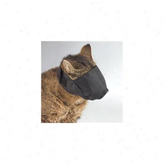 Petedge Tp640 15 Guardian Gear Lined Cat Muzzle Med 6-12 Lbs