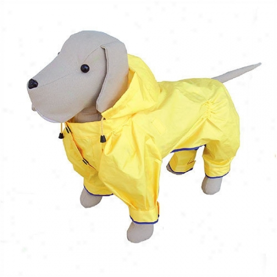 Petego Rainforest Dog Coat In Yellow