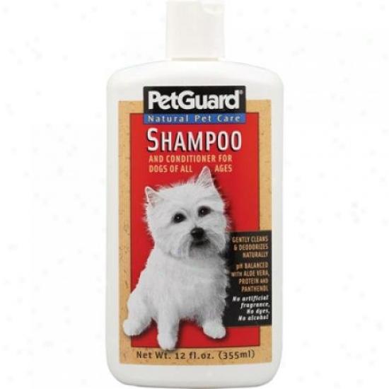 Petguard Shampoo And Conditioner For Dogs 12 Fl Oz