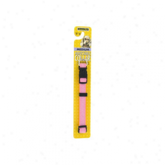 Petmate Aspen Pets Adjustaable Collar In Pink