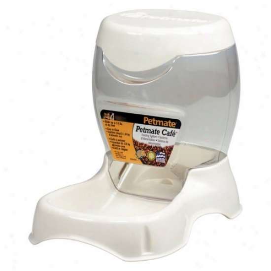 Petmate Cafe Feeder - White