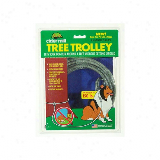 Petmate Cider Mill Heavy Tree Trolley For Dogs