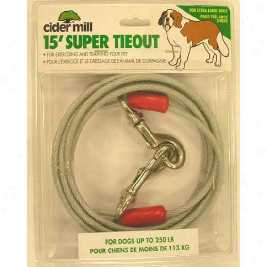 Petmate Cider Mill Super Tie Out Extra Heavy