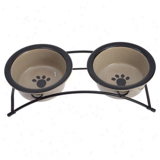 Petrageous Designs Buddys Best Elevated Small Dog Feeder