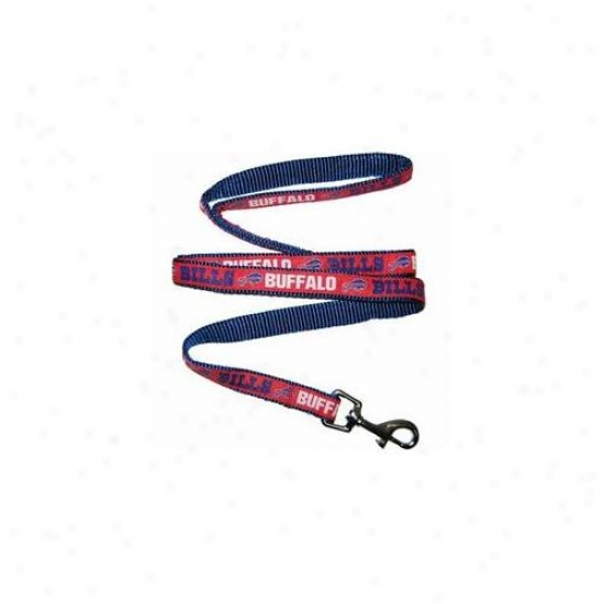 Pets First Bbl-l Buffalo Bills Nfl Dog Leash - Large